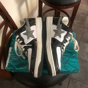 Rare bapeStas sneakers size 10.5 #Bape